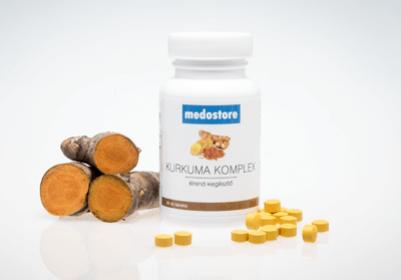 Új termék: Medostore Kurkuma Komplex