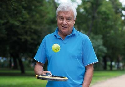 """""""Hűséges vagyok: a feleségemhez, a Vígszínházhoz és a teniszhez."""""""