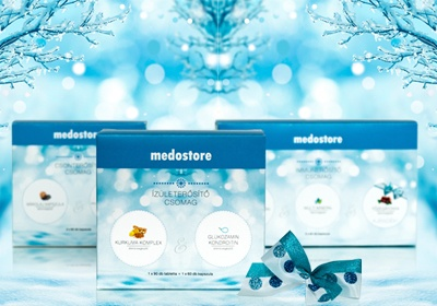Készüljön a karácsonyra a Medostore webáruházzal