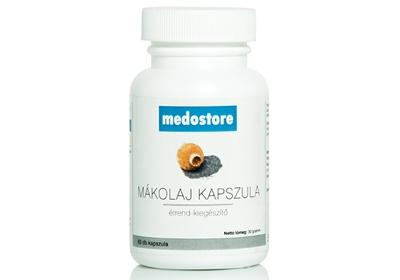 Medostore - Mákolaj kapszula (60db)