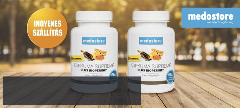 Kurkuma Supreme: Bioperin kivonattal a jobb felszívódásért