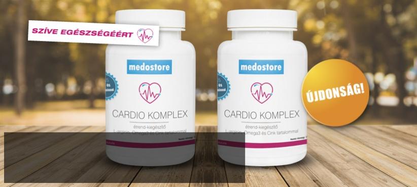 Újdonság! Cardio Komplex: 7 összetevő szíve egészségéért
